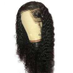 Eva Hair 360 Lace Frontal Wig Pre Plucked With Baby Hair Brazilian Curly Lace Front Human Hair Wigs For Black Women Remy Hair Wig Cheap Human Hair, Human Hair Lace Wigs, Curly Wigs, Long Curly Hair, Curly Hair Styles, Natural Hair Styles, Remy Hair, Weave Hairstyles, Hairdos