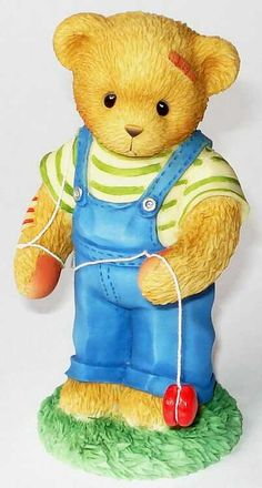 Heidi´s Cherished Teddies Galerie: CALVIN - Life Is Filled With Ups and Downs (706965)