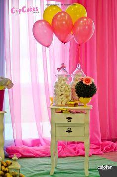 Decor from Princess Minions Themed Birthday Party at Kara's Party Ideas. See more at karaspartyideas.com!
