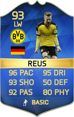Unlikely, but this would be a game changer! #FIFA #FUT #TOTS #Reus