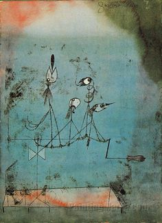 Love this Paul Klee. remember it from lots of years ago at the SF MoMA. Moma, Paul Klee Art, William Turner, Ink Pen Drawings, Art Abstrait, Wassily Kandinsky, Fantastic Art, Museum Of Modern Art, Watercolor And Ink