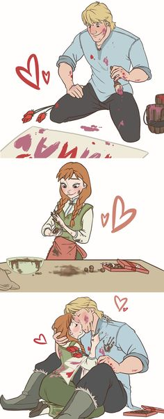 Happy Valentine's Day - KristAnna by NightLiight.deviantart.com on DeviantArt.