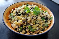 Black Bean and Sweet Corn Quinoa