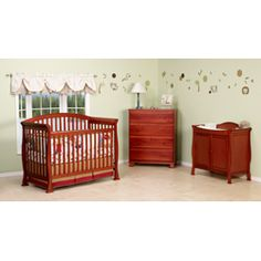 @Overstock - Cuddle your baby from cradle to college with this wooden DaVinci convertible crib. The traditional styling provides a classic nursery look that will transition as your child grows. This crib easily converts to a toddler, day, and full-size bed. http://www.overstock.com/Home-Garden/DaVinci-Thompson-4-in-1-Crib-with-Toddler-Rail/4341047/product.html?CID=214117 Add to cart to see special price