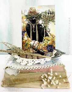 Greeting Card - Crow Card - Raven Card - Greeting Card Set - Woodland Greeting Card - Black Bird Card- Just Because Card