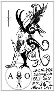 Andrew D. Chumbley (1967-2004) was an Essex-based artist and writer, and a doctoral candidate in comparative religions at SOAS University of London. His work primarily concerns witchcraft, magical history and oneirology. His published work includes Azoëtia: A Grimoire of the Sabbatic Craft, Qutub, The Grimoire of the Golden Toad, and The Satyr's Sermon (2009), as well as numerous articles in journals of foklore and the occult.