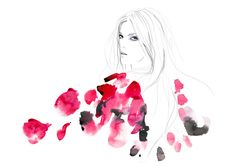 fashion illustration by MEKEL Shop — Lamington Drive