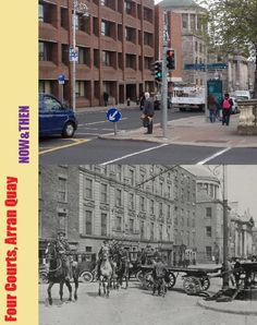 Dublin 1916 Then & Now - Pictures from the 1916 Rising Ireland Pictures, Old Pictures, Old Photos, Vintage Photos, Dublin Street, Dublin City, Ireland 1916, Dublin Ireland, Then And Now Pictures