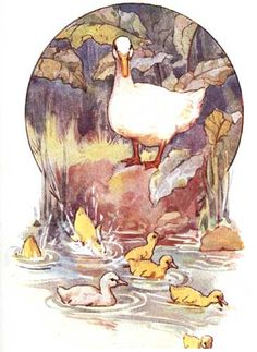 Ugly Duckling - Fairy Stories from Hans Christian Andersen, 1910     Margaret W. Tarrant