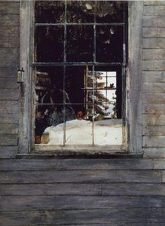 A Wyeth Geraniums