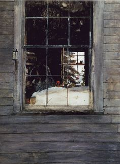A Wyeth Geraniums