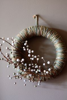 Wreath 4 by foodwinemodpodge, via Flickr