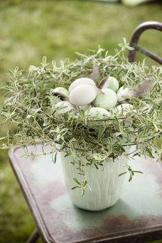Spring Equinox: At the Spring Green, Spring Colors, Nester, Pot Pourri, Spring Has Sprung, Craft Sale, Pottery Barn Kids, Shades Of Green, Happy Easter