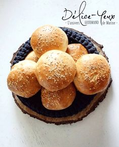 Homemade Hamburgers Breads Easy and Without Robot Dlice Yeux the gourmet universe of Marine Easy Hamburger Casserole, Hamburger Recipes, Casserole Recipes, Homemade Hamburgers, Gourmet Hamburgers, Burger Party, Mini Bun, Mini Burgers, Recipe For 4