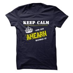 (Tshirt Design) Let AHEARN Handle It Discount 10% Hoodies, Funny Tee Shirts