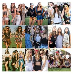 """Coachella With Friends ! ..."" by anavic1409 ❤ liked on Polyvore"