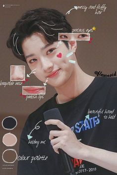 Views in Miroh 🎲 Picsart, Cho Chang, First Boyfriend, Bias Kpop, Guan Lin, Lai Guanlin, Korean Makeup, My Prince, Boyfriend Material
