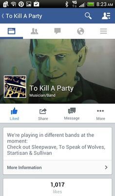 --------To Kill A Party--------