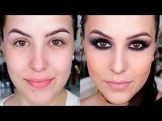 Preparação de pele com Produtos Nacionais: Eudora - YouTube