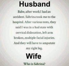 I don't think that can help this guy. With the explanation that is. Funny Laugh, Funny Jokes, Hilarious, Laugh Laugh, Wife Humor, Crazy Quotes, Quotes Pics, Golf Humor, Adult Humor