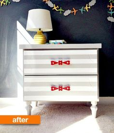 Before & After: Danielle Gets a New Nightstand | Apartment Therapy
