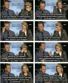 His costars are so nice. I love Simon Pegg though, he's so funny.