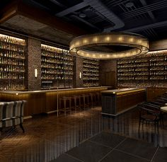 Tokyo whiskey library
