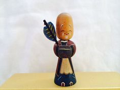 Vintage Kokeshi Doll from Japan by FullHollow on Etsy