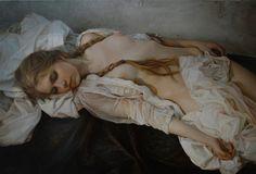 Cultura Inquieta - Sensuales y ensoñadores óleos hiperrealistas obra de Serge Marshennikov