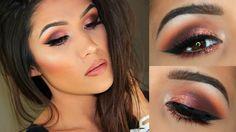 Colourpop Eyeshadows : easy smokey eye