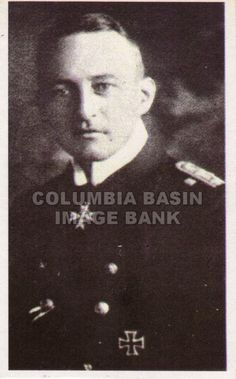 Captain Walther Schweiger of German submarine U-20, which sank the SS Hesperian and SS Lusitania, circa 1915