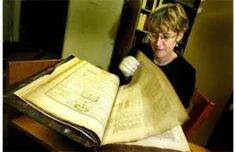 """""""We take the Bible seriously, but not literally."""" That's a phrase heard often among liberal Christians. They view the Bible as a mix of history, myth, metaphor and poetry. {Photo: One of 50 original versions of the King James Bible.}"""