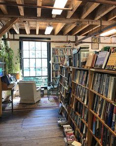"The Montague Bookmill motto is ""books you don't need in a place you can't find."" 😂 It's a used bookstore housed in an 1842 gristmill, set… Second Hand Bookstore, Bookstore Design, Goal Planning, Shelfie, Aesthetic Vintage, Book Nooks, Antique Books, Reading Nook, Bookshelves"