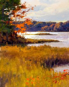 """A Touch of Autumn"" by Donald Demers"