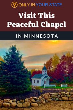 Relax at this beautiful, peaceful chapel in rural Minnesota. It's a sanctuary and a work of art. Honeymoon Vacations, Editing Background, Small Ponds, Buddhist Temple, Rv Travel, Place Of Worship, Abandoned Places, Vacation Ideas, Wonderful Places