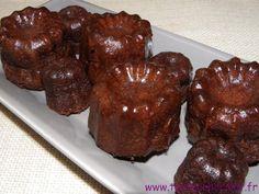 Coucou mes Fondus, Vous n'allez en faire qu'une bouchée de mes #cannelés au #chocolat ! #toutauchocolat http://www.toutauchocolat.fr/recette/canneles-au-chocolat/