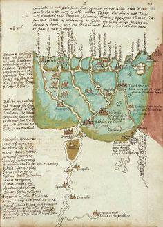 Sir Walter Raleigh's notes