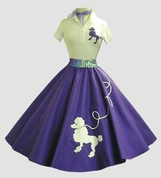 Gorgous Poodle Skirt Set.