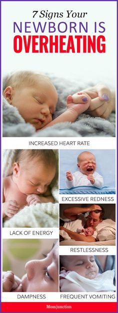 Babies are susceptible to overheating as they are unable to regulate their body temperature the way adults are able to. Overheating can occur at any time