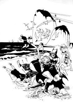 Batman Rio 3 by Eduardo Risso Comic Art