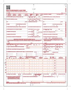 photo relating to Cms 1500 Form Printable identify 8 Most straightforward Downloadable CMS 1500 Assert Style 2017-2018 inside of PDF