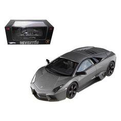 Lamborghini Reventon Flat Black Elite Limited Edition 1/43 Diecast Model Car by Hotwheels