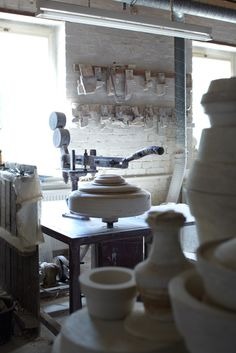 an art studio...potters wheel is just one of the things i will have in there!