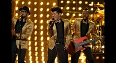 "loved Bruno Mars ""James Brown-esque"" footwork on the grammys"