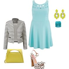 mixing it up look3 plus size pretty and chic by kristie-payne on Polyvore featuring maurices, Betsey Johnson, J.W. Anderson, Elizabeth Cole and Ashley Stewart