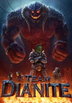 Another Awesome Dianite Poster made by Benjamin Weu. @Free4Fire Great Job
