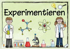 """Ideenreise: Themenplakat """"Experimentieren"""""""