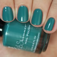 KBShimmer Teal It To My Heart | Fall 2015 Collection | Peachy Polish