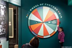 interactive exhibition wheel - Google Search