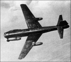 Junkers Ju 287 - experimental aircraft.